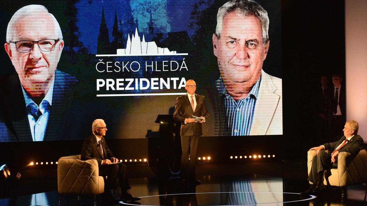 Televizní debatu naPrimě sledovalo přes dva miliony diváků.