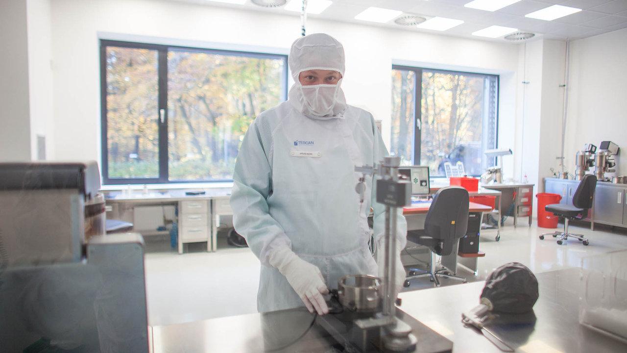 Firma Tescan představuje světovou špičku vevývoji elektronových mikroskopů.