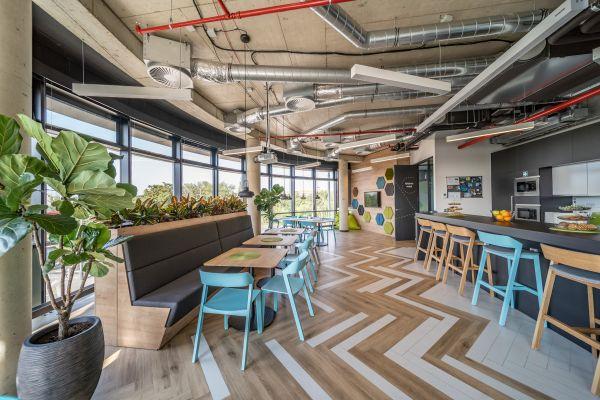 Nové kanceláře společnosti Veeam v pražských Holešovicích