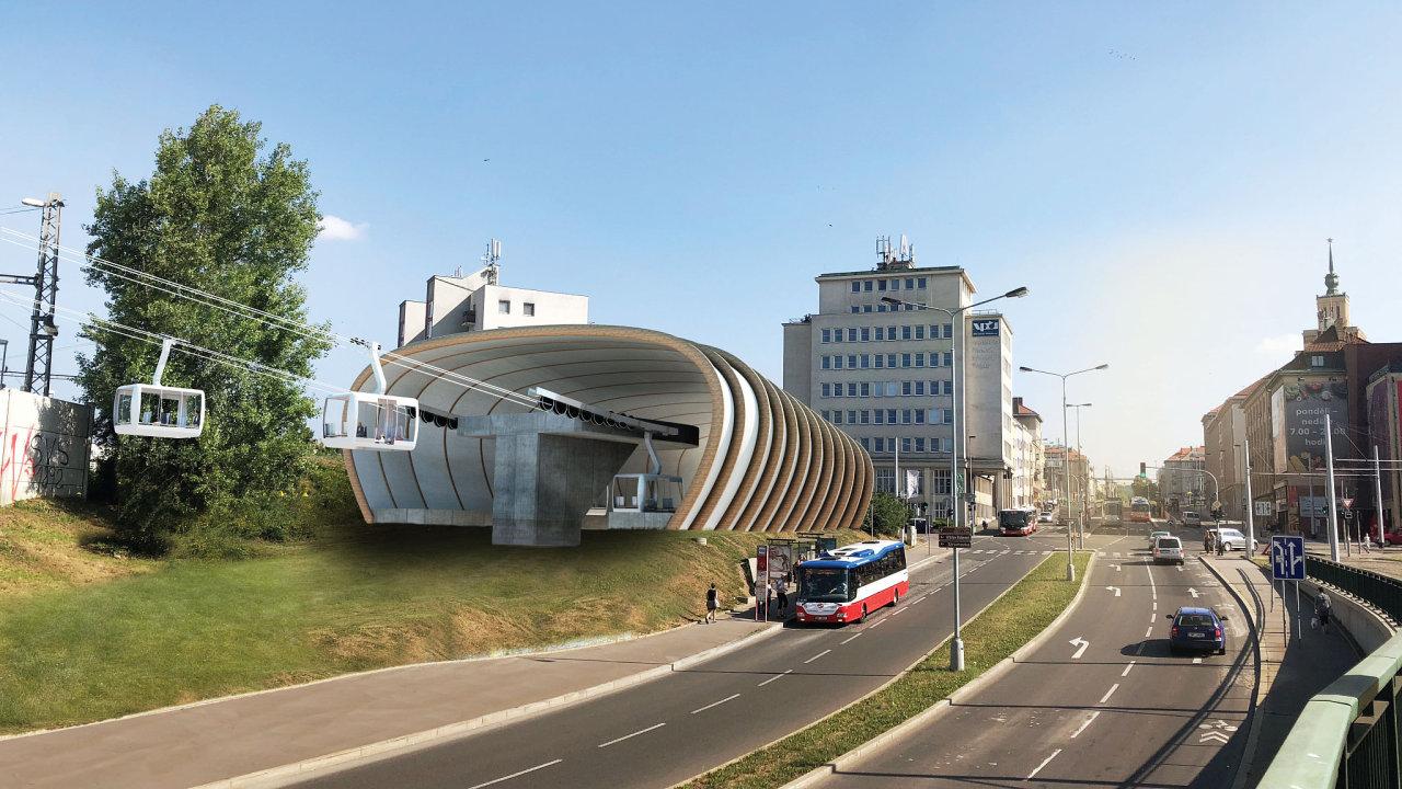 V Praze by do roku 2024 mohla vzniknout nová lanovka.