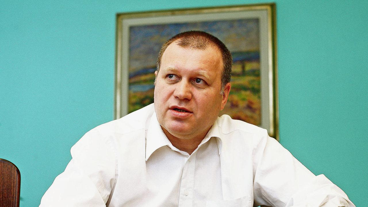 Bývalý náměstek ministra práce a sociálních věcí Vladimír Šiška.