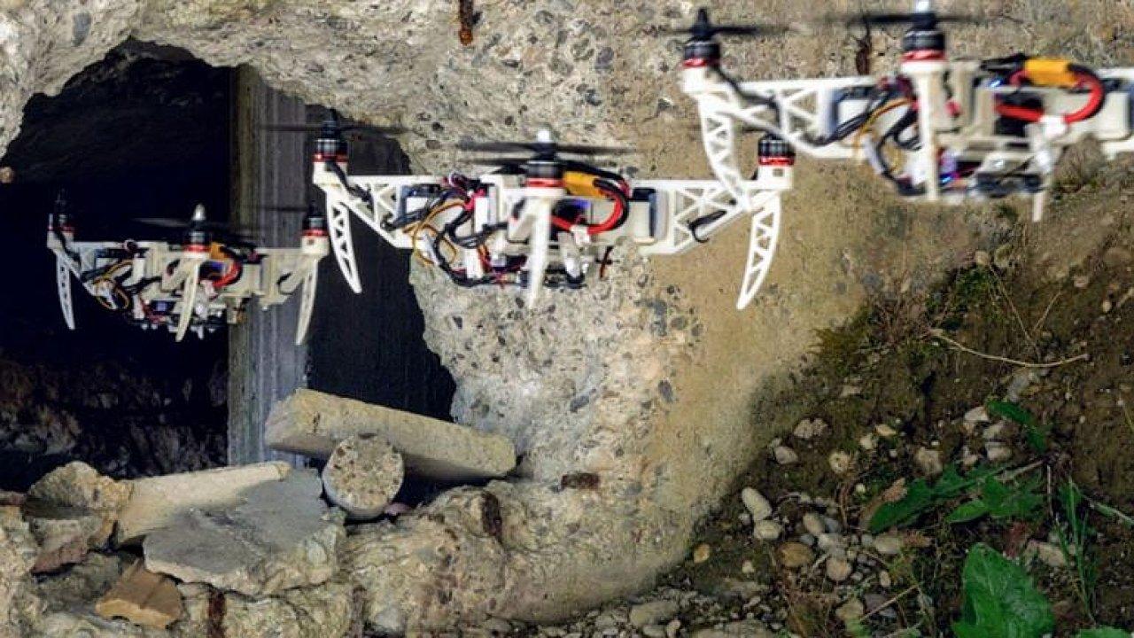 Dron ze Švýcarska dokáže během letu měnit velikost. Proletět malým prostorem pro něj není žádný problém.