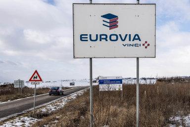 Eurovia měla v pátek 26. července zahájit opravy na dálnici D1 u pražského Chodova.