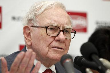 Jeden z nejbohatších lidí na světě - investor Warren Buffett.