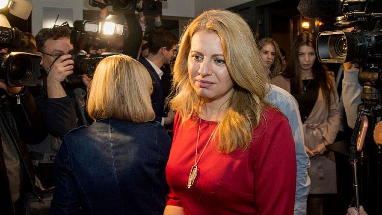 Lidé chtějí změnu, reaguje Čaputová na výsledky prvního kola prezidentských voleb