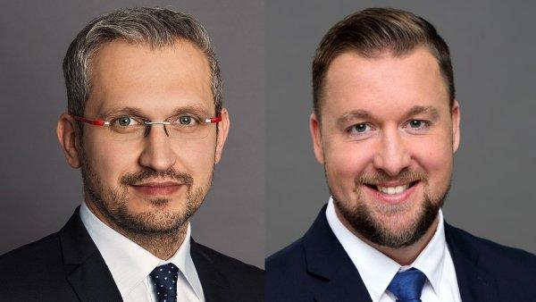 Milan Mašša, Head of Advisory & Transaction Services – Retail a Tomáš Míček, Head of Property Management Retail společnosti CBRE