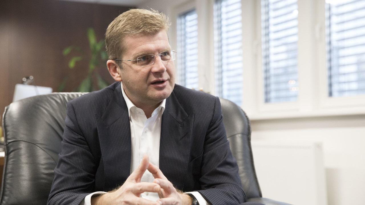 Slovenský ministr hospodářství Peter Žiga.