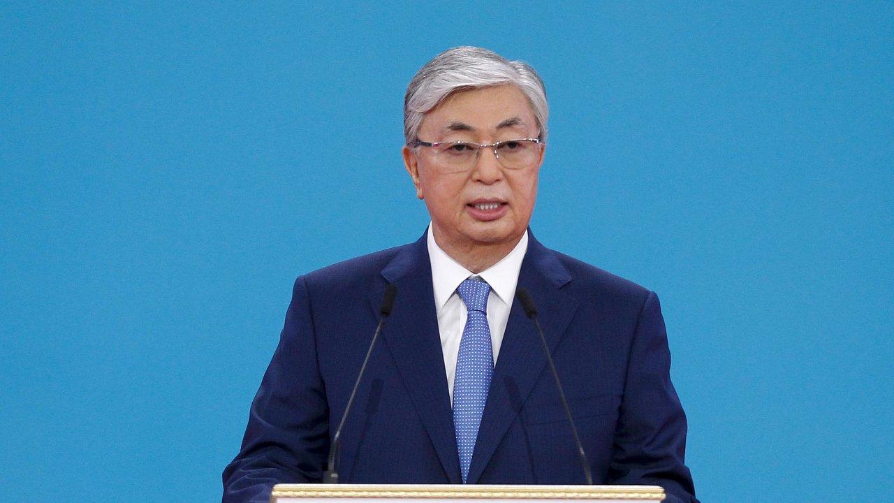 Nový kazašský prezident Kasym-Žomart Tokajev