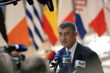 """""""Budeme bojovat za to, abychom dostali peníze podle našich představ, ne podle představ Bruselu,"""" uvedl Babiš."""
