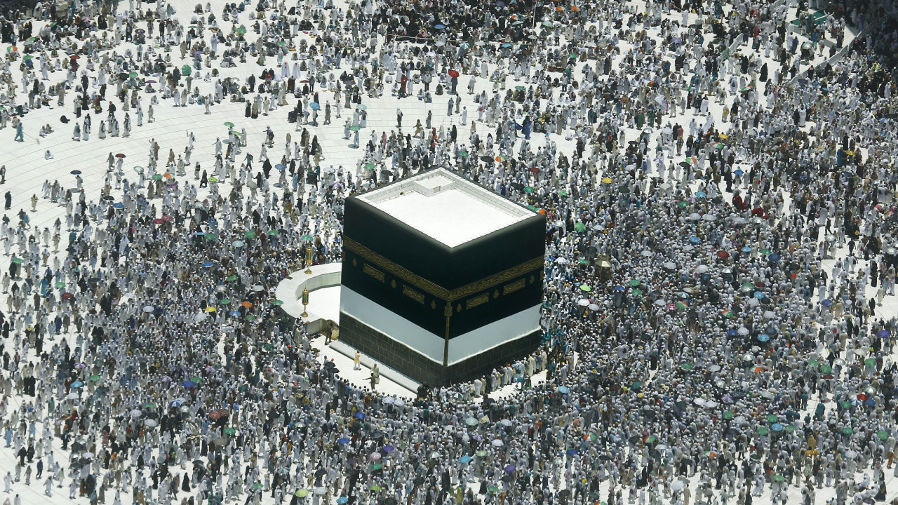 Velkou mešitu v Mekce každoročně navštíví dva miliony lidí.