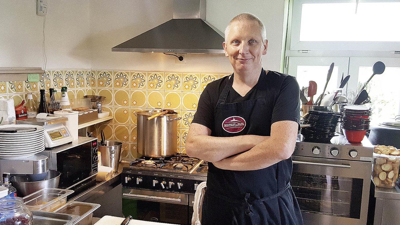 Francouzský šéfkuchař Rémi Decroix, Bistrot de papa