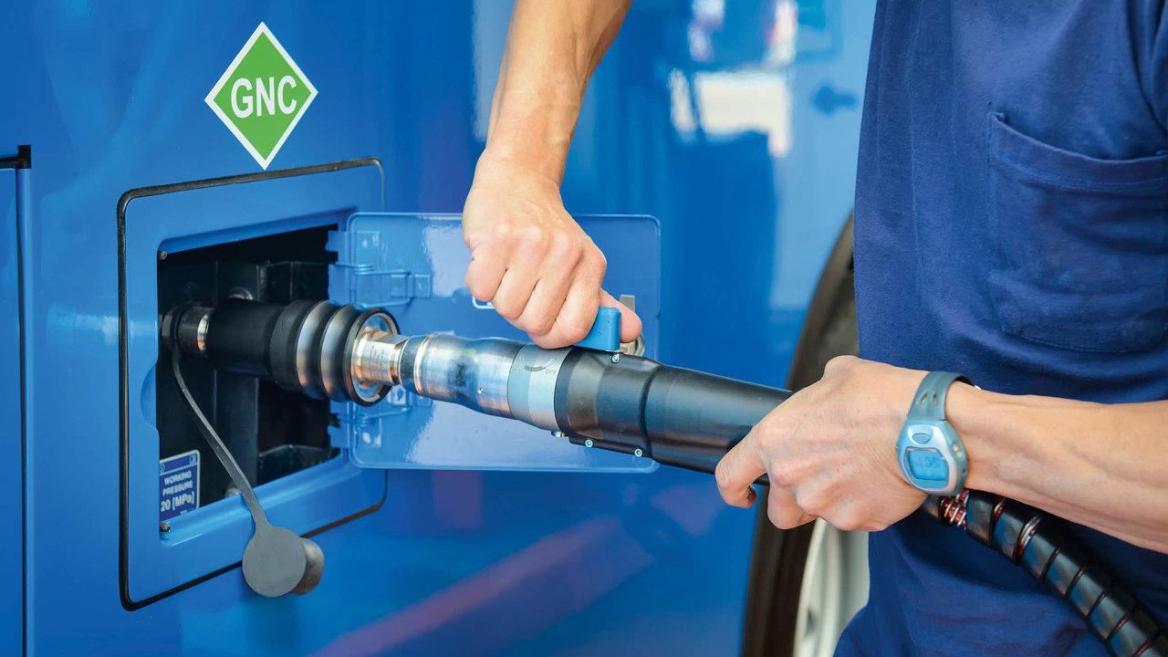 Zájem o CNG v dopravě i přes loňský pokles trvá