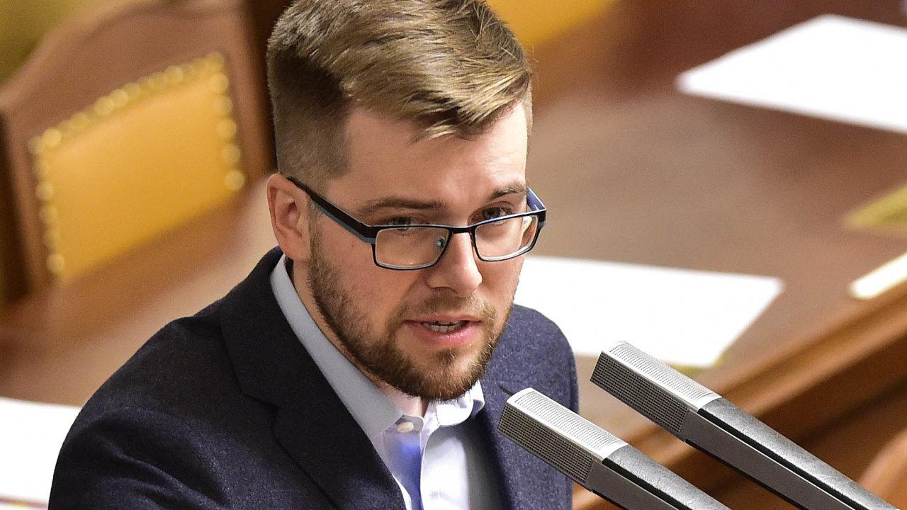 Šéf poslaneckého klubu pirátů Jakub Michálek.