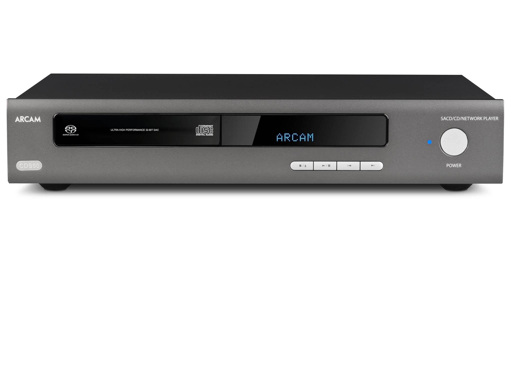 Arcam HDA CSD50 vypadá jako luxusní hi-fi CD přehrávač, ale kromě optických disků včetně Super Audio CD si poradí isestreamováním hudby.
