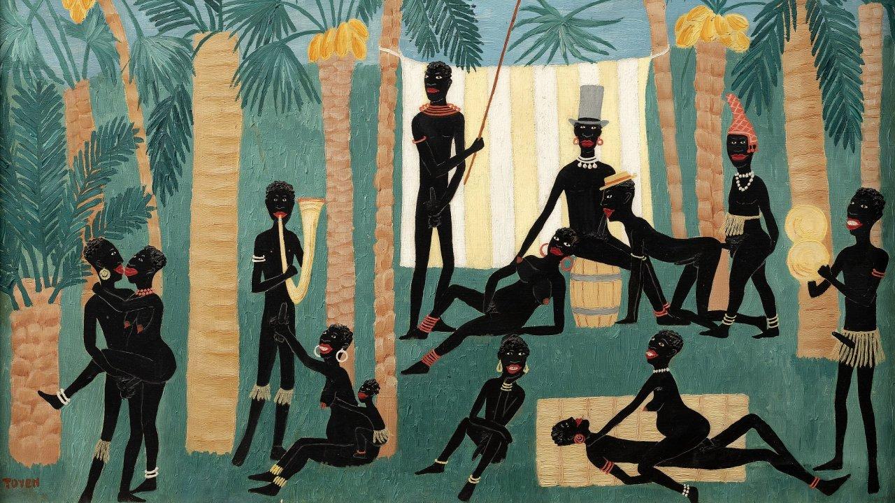 Obraz Ráj černochů.