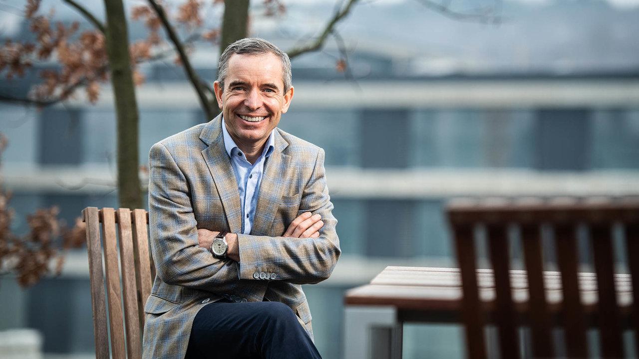 Jan Sadil (51), předseda dozorčí rady, ČSOB Pojišťovna