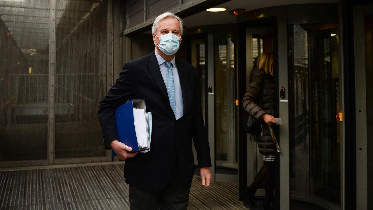 Vyjednávač. Natom, jaké budou pobrexitu vztahy mezi Evropskou unií aVelkou Británií, měl podíl Michel Barnier, hlavní vyjednavač EU.