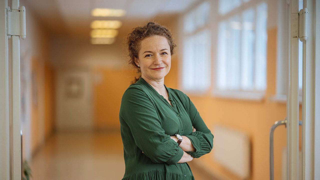 Kateřina Rusinová, přednostka Kliniky paliativní medicíny