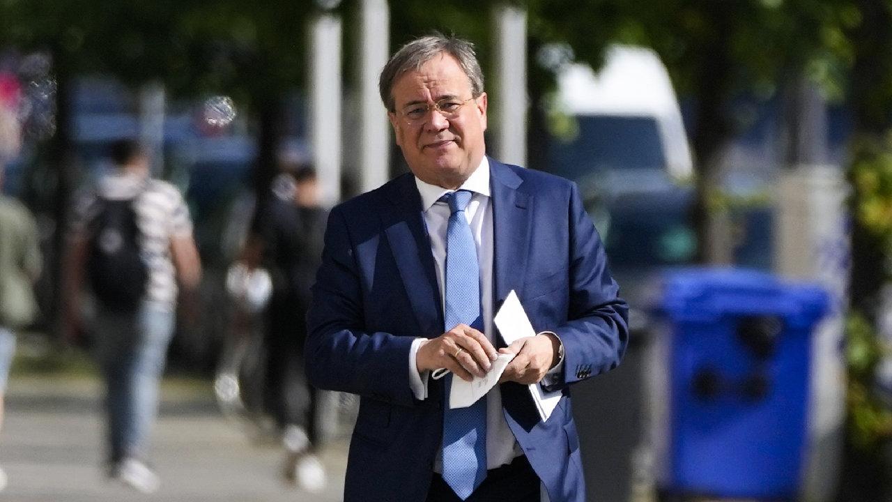 Lídr křesťanských demokratů do podzimních německých voleb Armin Laschet může být s výsledky hlasování v Sasku-Anhaltsku spokojený.