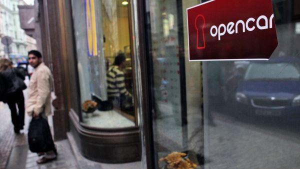 Opencard - ilustra�n� foto