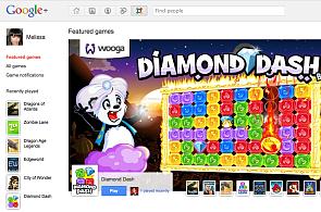 Google spouští hry pro G+, nechybí Angry Birds ani poker nebo sudoku