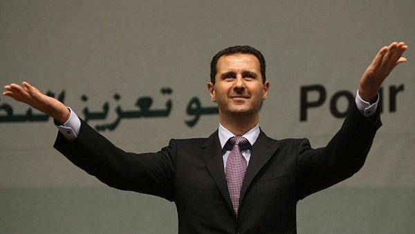 Syrsk� prezident Ba��r Asad