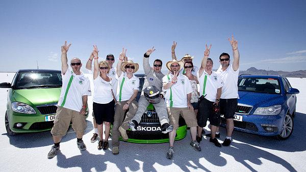 Škoda Octavia vRS - upravená pro rychlostní rekord