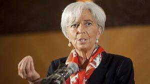 ��fka Mezin�rodn�ho m�nov�ho fondu Christine Lagardeov�.