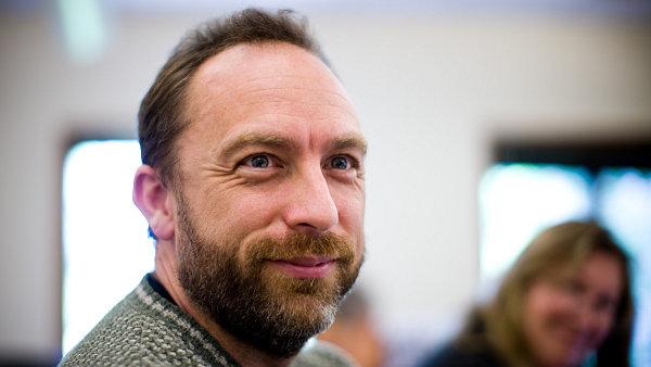 Spoluzakladatel Wikipedie Jimmy Wales