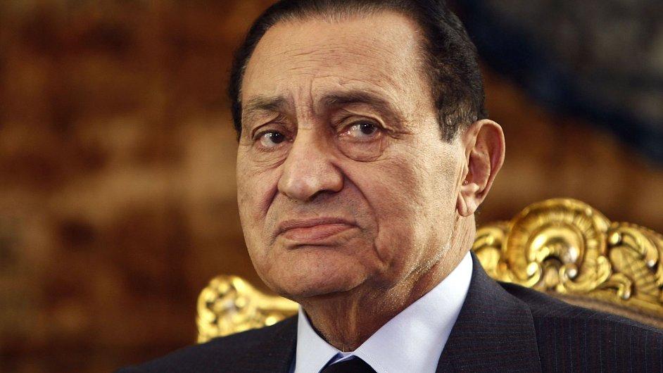 Bývalý egyptský prezident Husní Mubárak