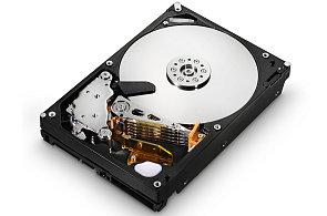 Tradiční pevný disk s magnetickými plotnami