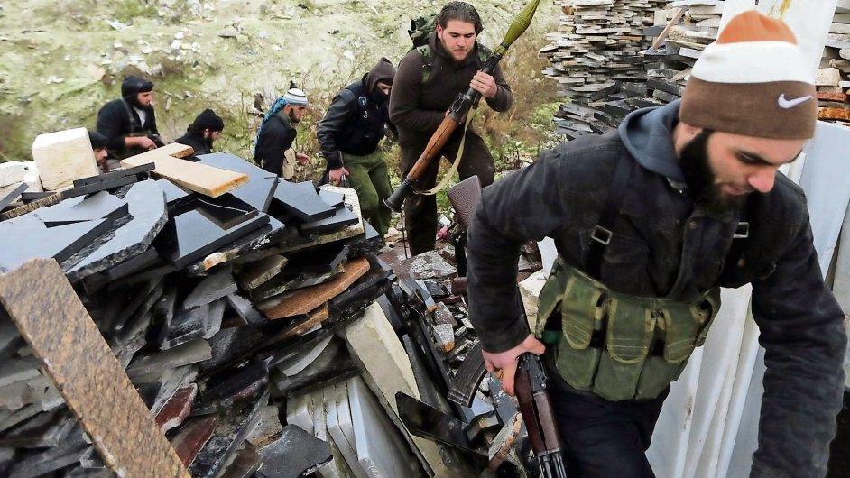 Libanonské radikální hnutí Hizballáh.