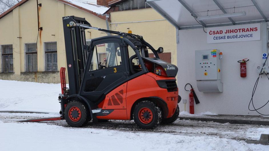 Linde MH dodala vozíky na CNG do ČSAD Jihotrans