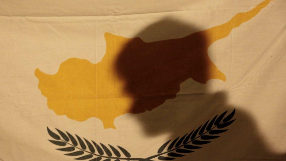 Vlajka Kypru. Ilustrační foto