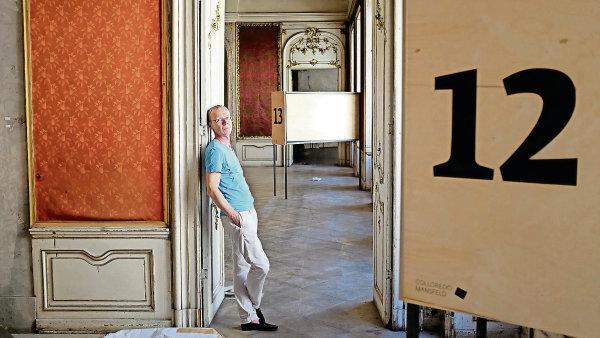 Za projektem na využití Colloredo-Mansfeldského paláce stojí kurátor Marek Pokorný.