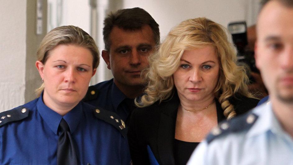 Jana Nagyová u soudu