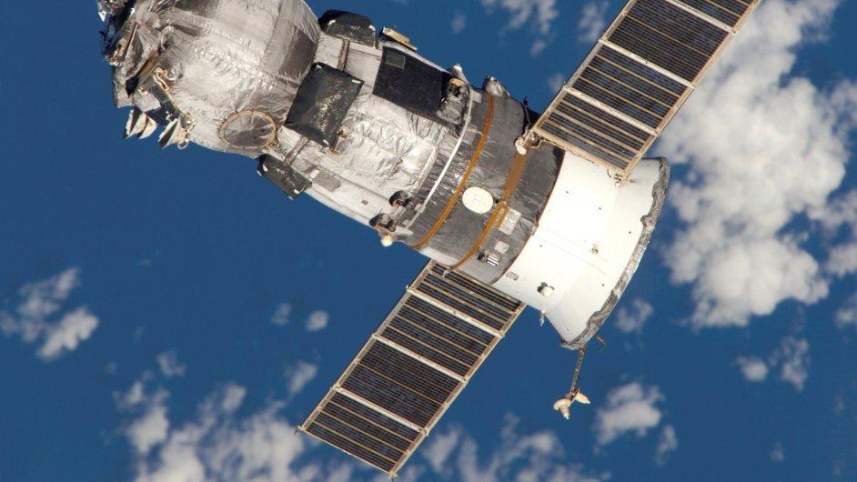 Ruská nákladní kosmická loď Progress M-52