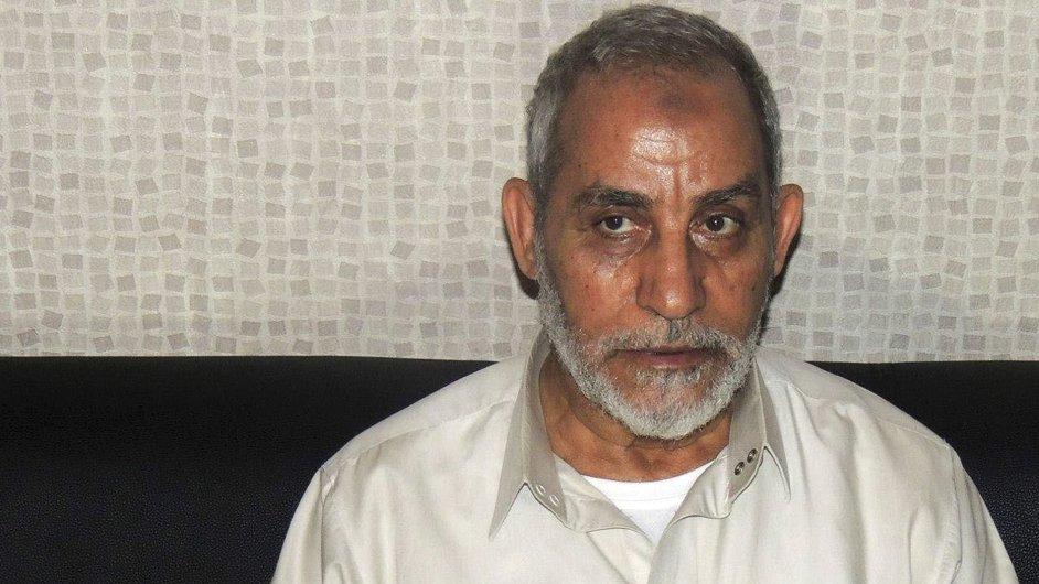 Vůdce Muslimského bratrstva Muhammad Badí byl k smrti odsouzen už podruhé (ilustrační foto).