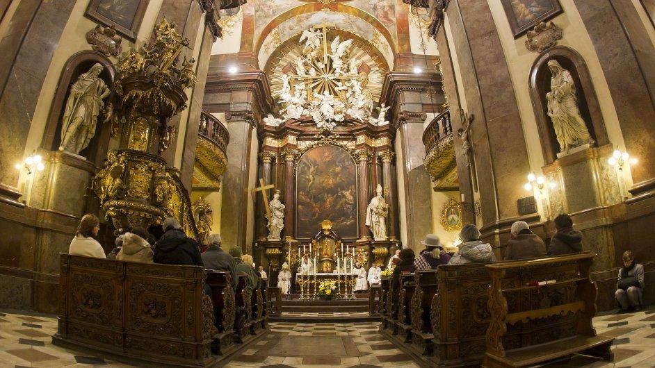 Kostel sv. Františka v Praze, ilustr. foto