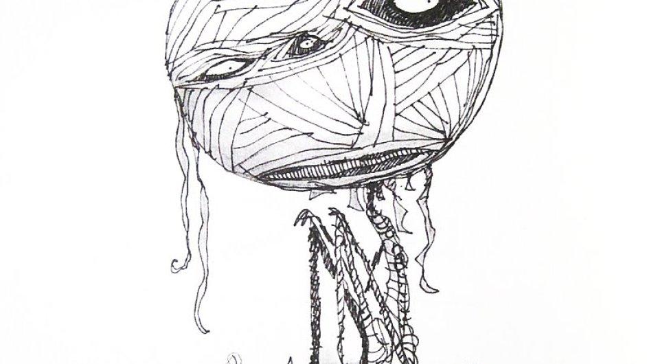 Jednu z postav sbírky Ústřičkova smutná smrt a jiné příběhy stihla faraonova kletba.
