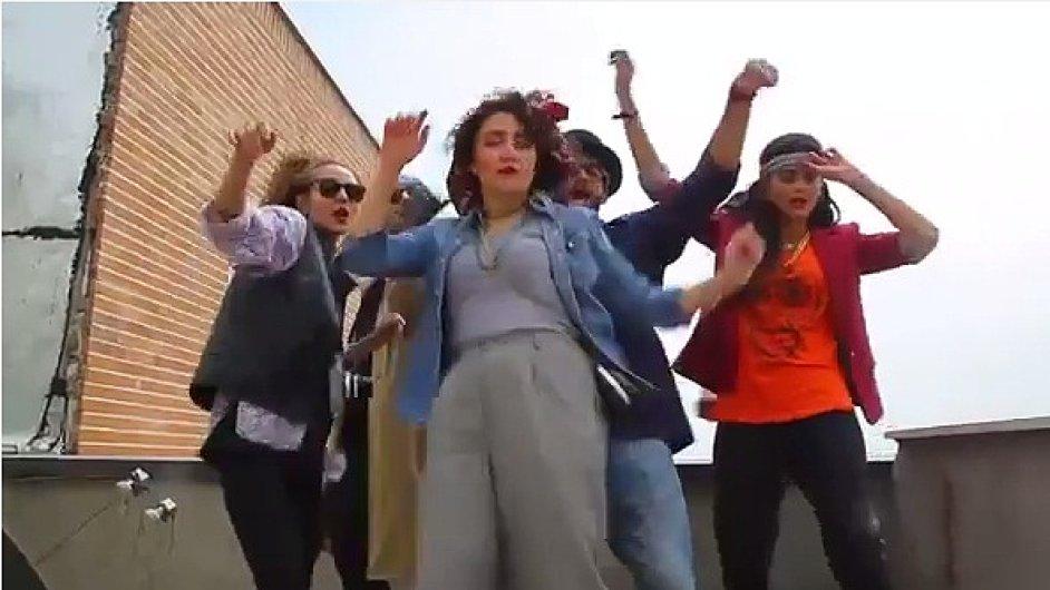 Teheránská verze klipu Happy