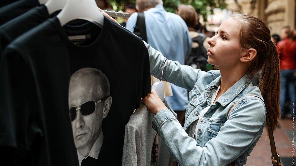 Nová kolekce triček s Putinem