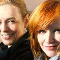 Re�is�rka filmu Andrea Sedl��kov� (vlevo) s here�kou A�ou Geislerovou.