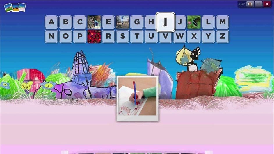 Ukázka z nového interaktivního slabikáře.
