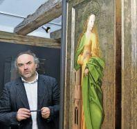 Na snímku ředitel Národní galerie Jiří Fajt.