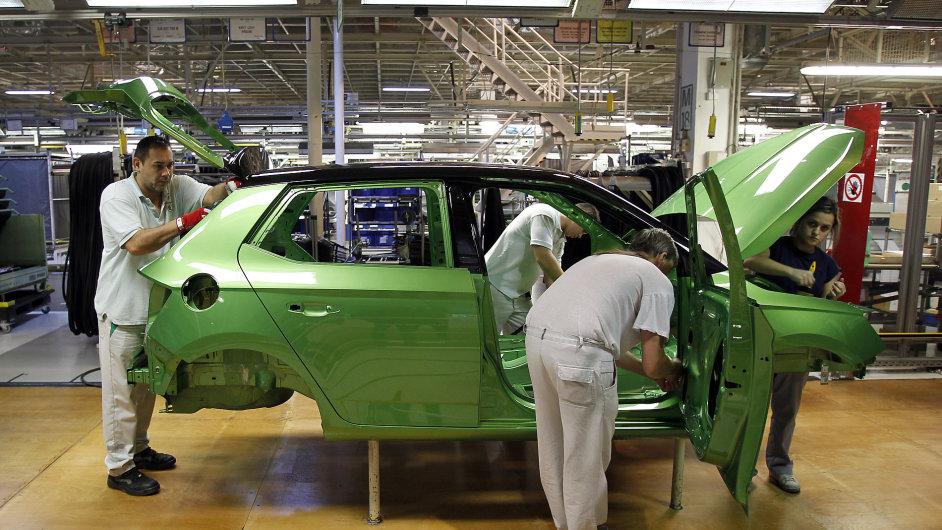 Škoda Auto v prvním čtvrtletí prodala 217 tisíc vozů - Ilustrační foto.