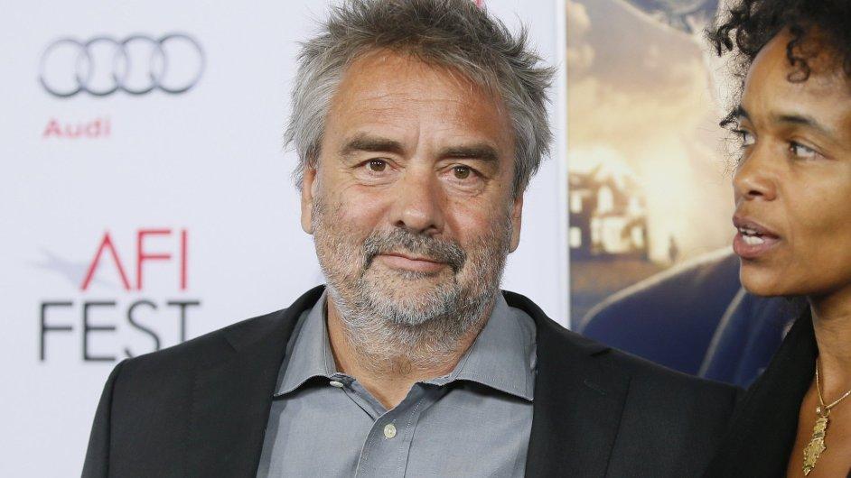 Producent a filmař Luc Besson na listopadovém snímku z Californie.