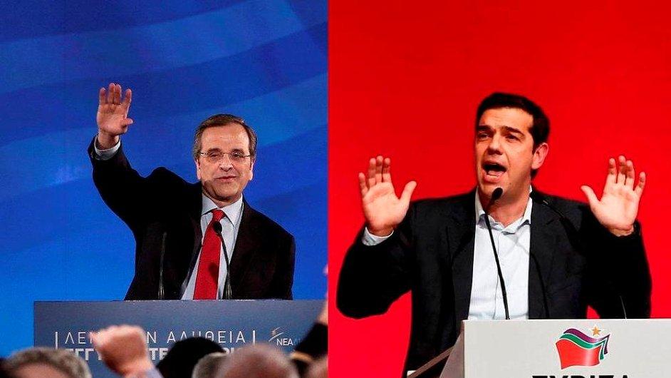 Nová demokracie versus Syriza, Řecko