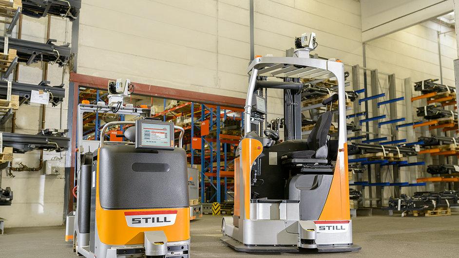 Still zvítězil v soutěži firmy Volkswagen s autonomním systémovým řešením pro vnitropodnikovou přepravu zboží.