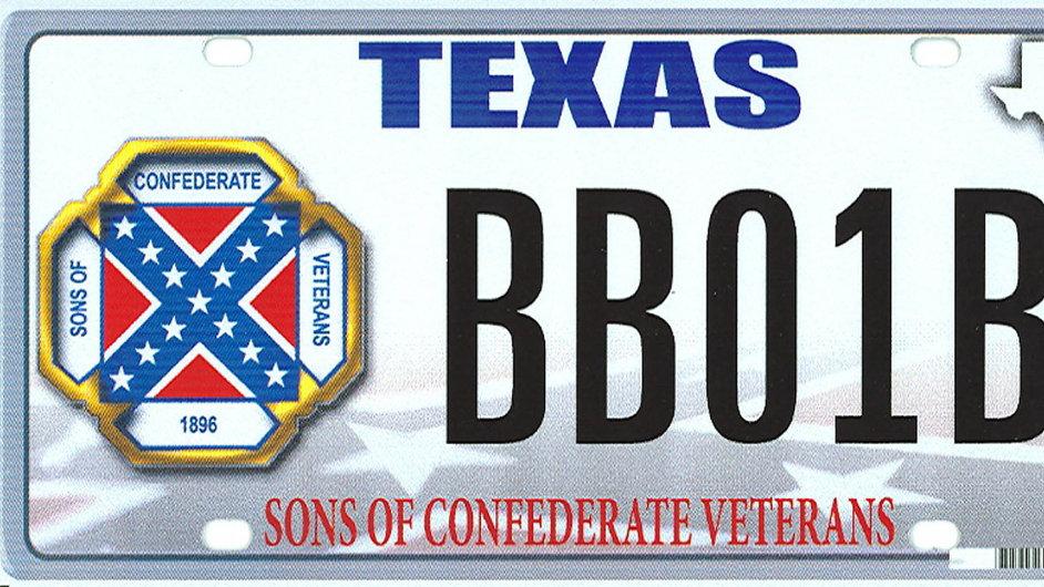 Texaská dopravní značka.